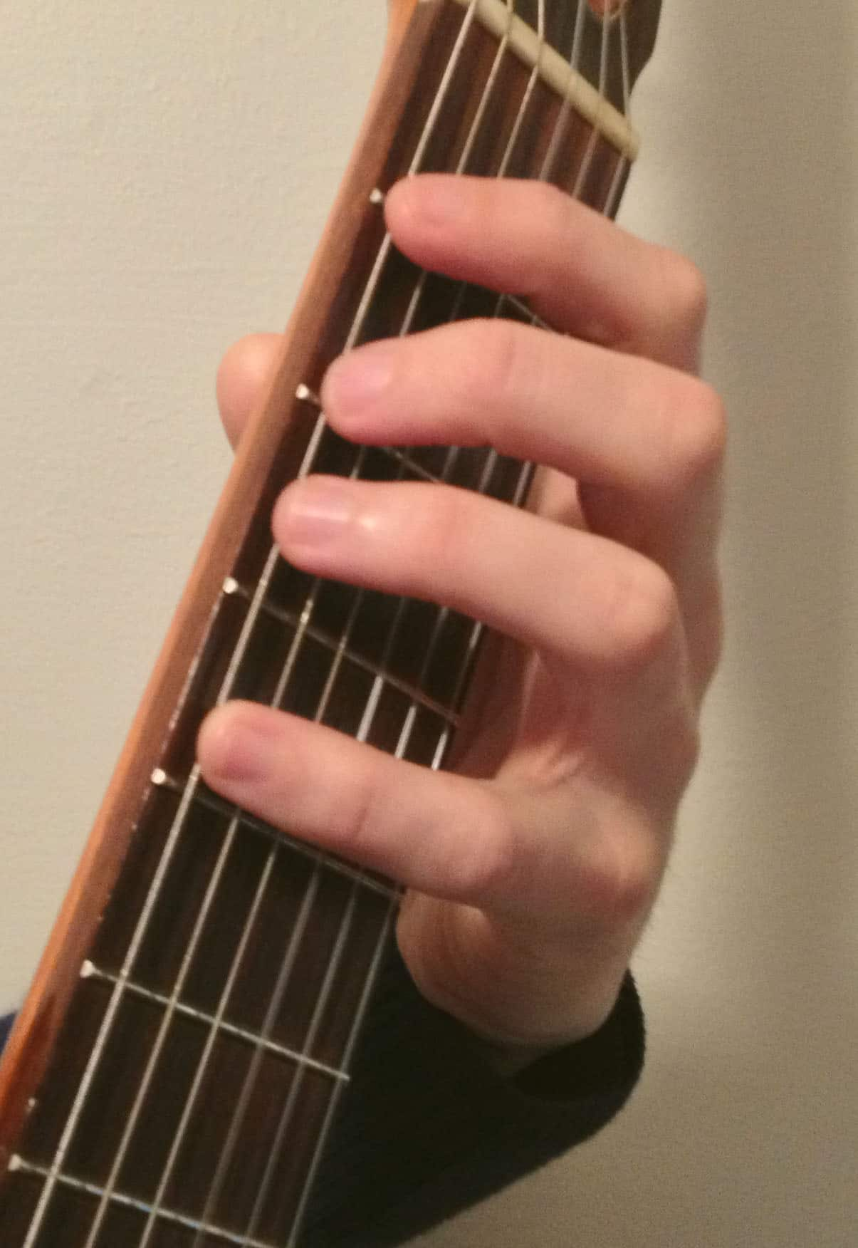 Quickstart Guide To Practicing Scales On Classical Guitar Electric Parts Diagram String Finger Numbering And Etc Playing In Positions The Neck