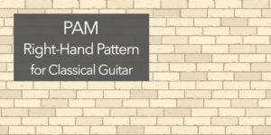 classical guitar pam