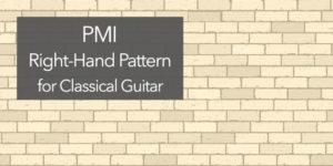 guitar arpeggio PMI