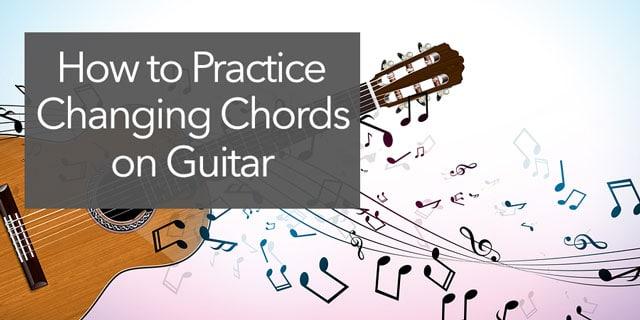 guitar chord changing