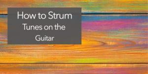 classical guitar strum