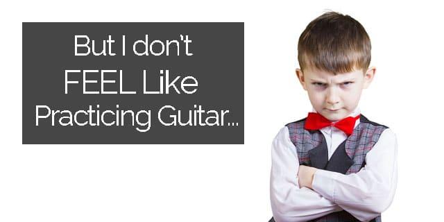 guitar procrastination