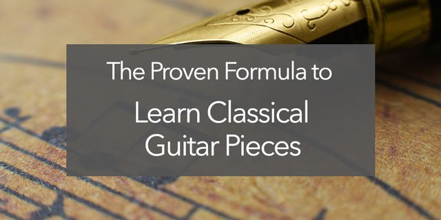 """Featured image for """"How to Learn Classical Guitar Pieces (Gypsy Dance)"""""""