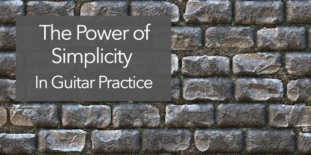 classical guitar simplicity practice