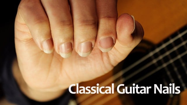 Classical Guitar Nails