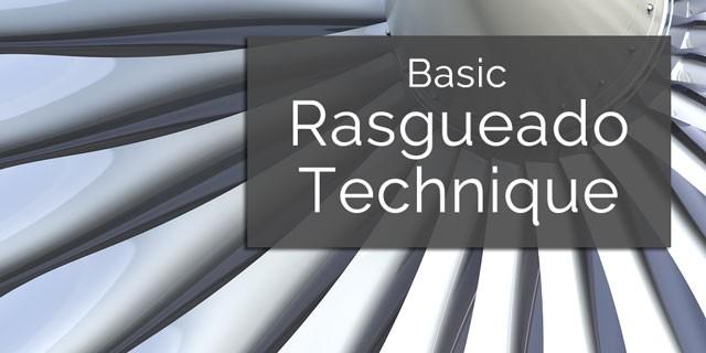 how to play rasgueados spanish guitar
