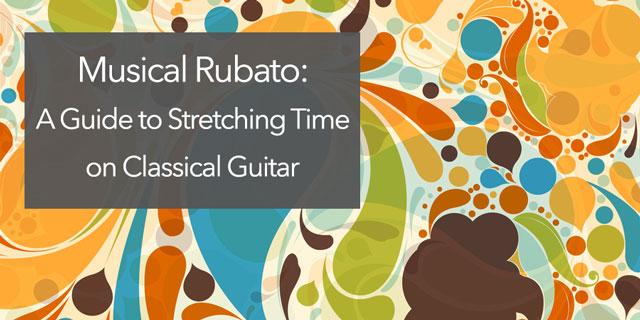 Classical Guitar rubato practice