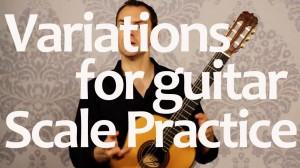 Practice Guitar Scales