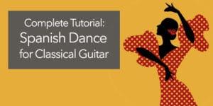 classical guitar spanish dance