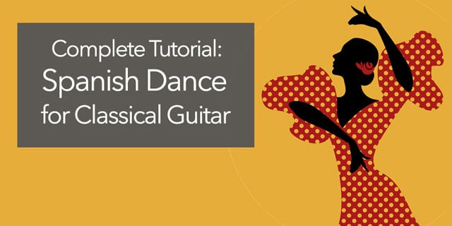 classical guitar spanish dance
