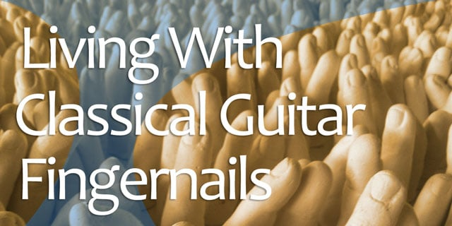 classical guitar nail