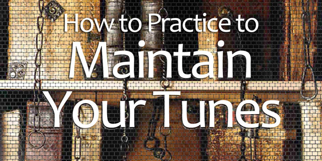 maintaining guitar repertoire