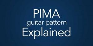pima guitar fingerpicking arpeggio pattern