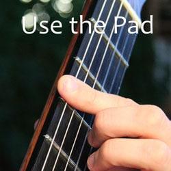 fingerpad to squeak less