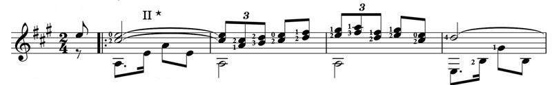 La Paloma guitar lesson