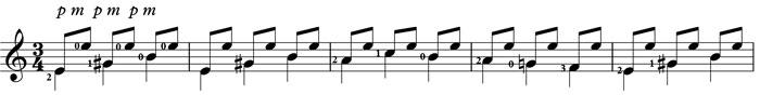 malaguena classical guitar