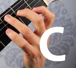 c basic guitar chord