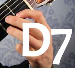 d7 basic guitar chord