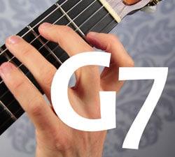 guitar chord G7