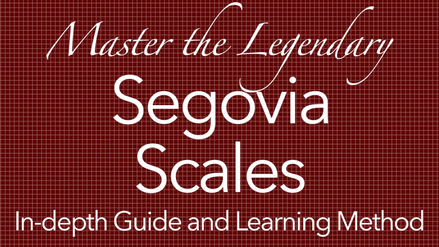 how to play segovia scales