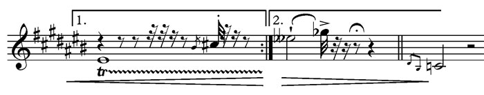 music notation example