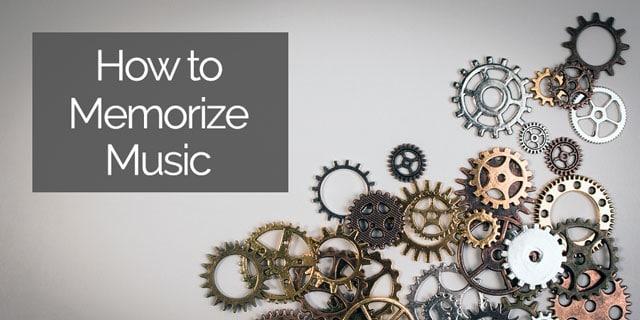 memorize music classical guitar