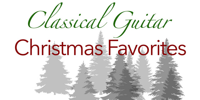 christmas music carols classical guitar solo tabs