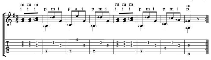 carulli guitar waltz