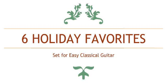 free classical guitar christmas sheet music tabs