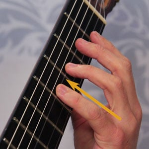 classical guitar dexterity stretch exercise