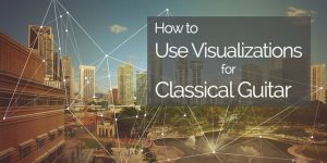 classical guitar visualization