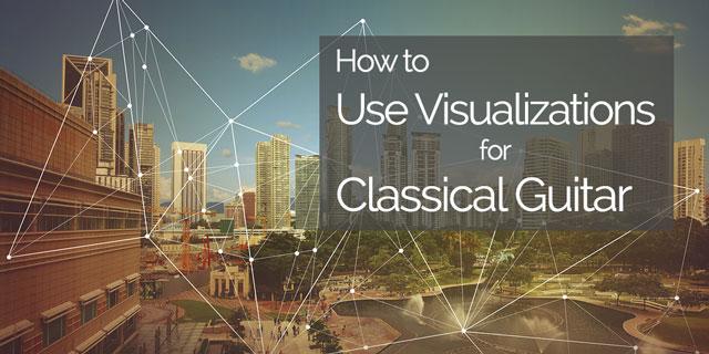 classical guitar visualization