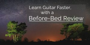 before bed nightly guitar review