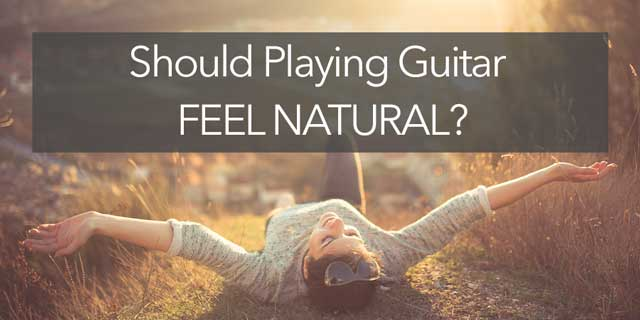 guitar feel natural