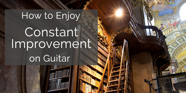 constant improvement classical guitar music