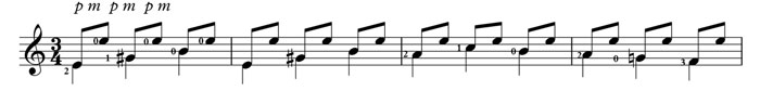 repeated eighth notes