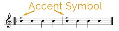 accents symbols