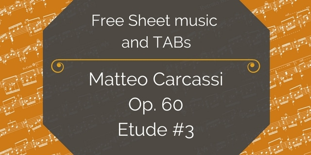 Copy of Free Sheet music and TABs