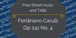 free Carulli pdf