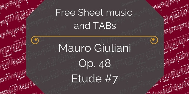 Free Sheet music and TABs-2