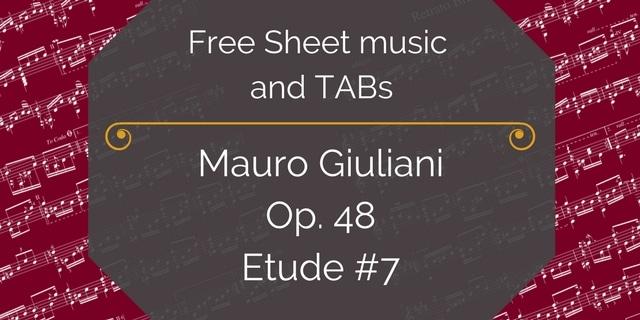 giuliani etud 7 free pdf