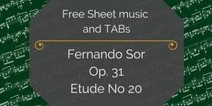 Sor etud 20 free pdf