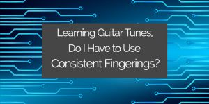 classical guitar fingerings