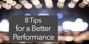 performance tips anxiety gig guitar