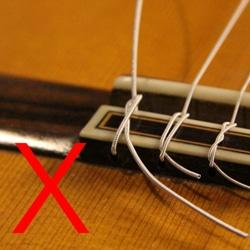 guitar string tail