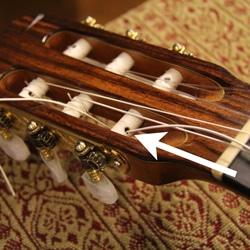 change guitar string head