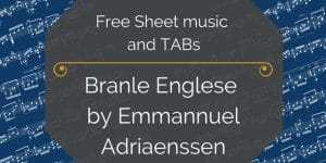 free pdf branle englese