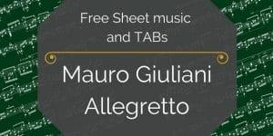 free pdf music Giuliani