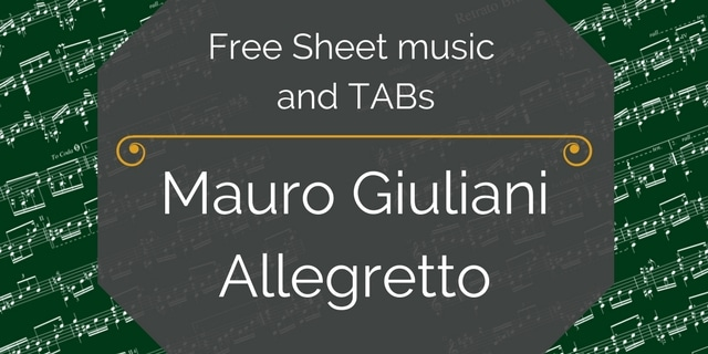 free pdf music Giuliani