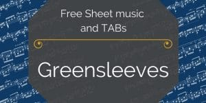 greensleeves free pdf